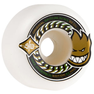 SPITFIRE ANDERSON SFW II WHEELS (WHITE) 53MM 99A 4 PACK